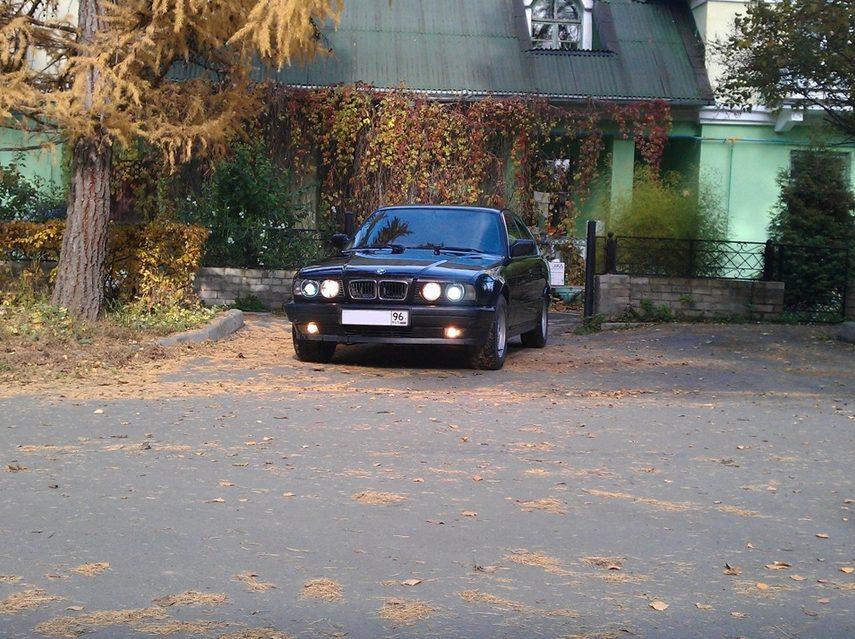 Как я встретил её...свою 535i в кузове E34