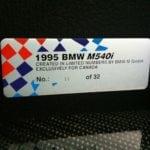 Спец-версия bmw e34 m540i для Канады