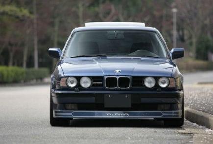 BMW E34 обвес Alpina