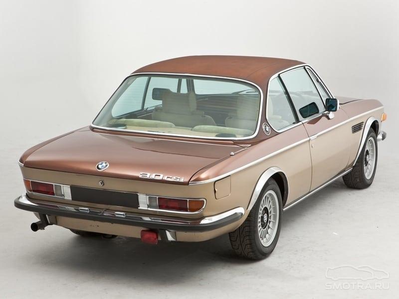 BMW e9 - образчик классического дизайна BMW и эталон управляемости в своём классе