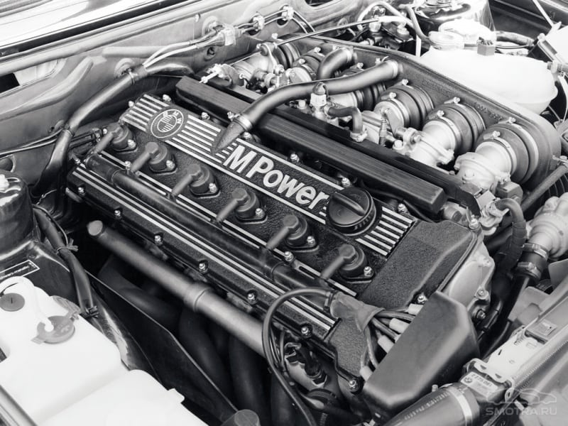 Мотор М88 с индексом М88/3 ставился на BMW M635CSi e24
