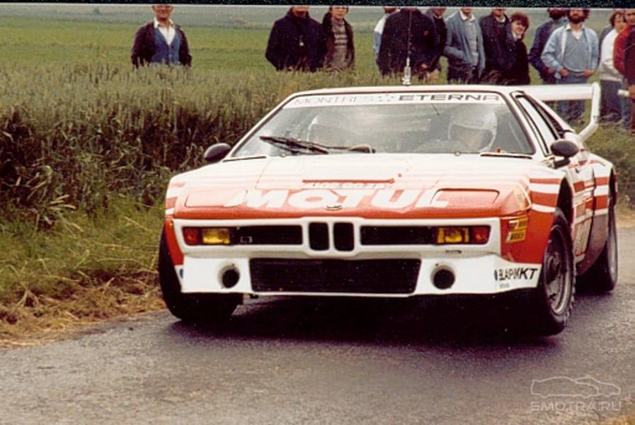 BMW M1 - первый и единственный суперкар от BMW