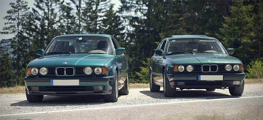 BMW E34 M5 «Cecotto Edition» в цвете Lagoon Green Metallic