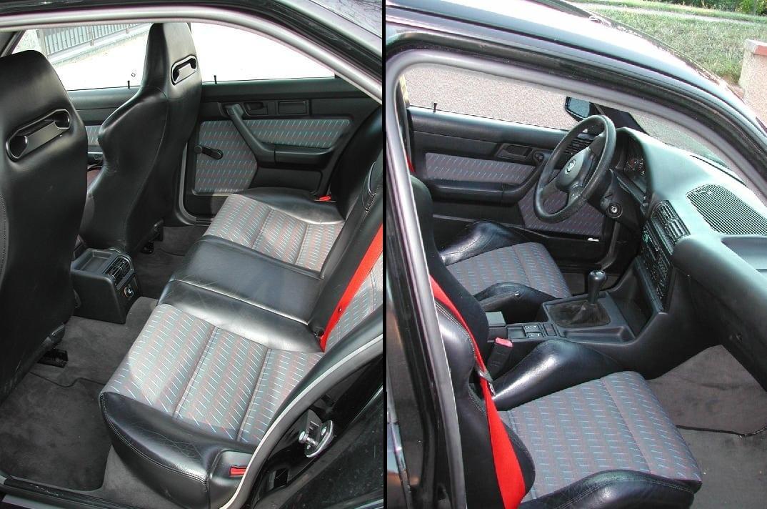 Интерьер салона BMW M5 E34 Winkelhock Edition