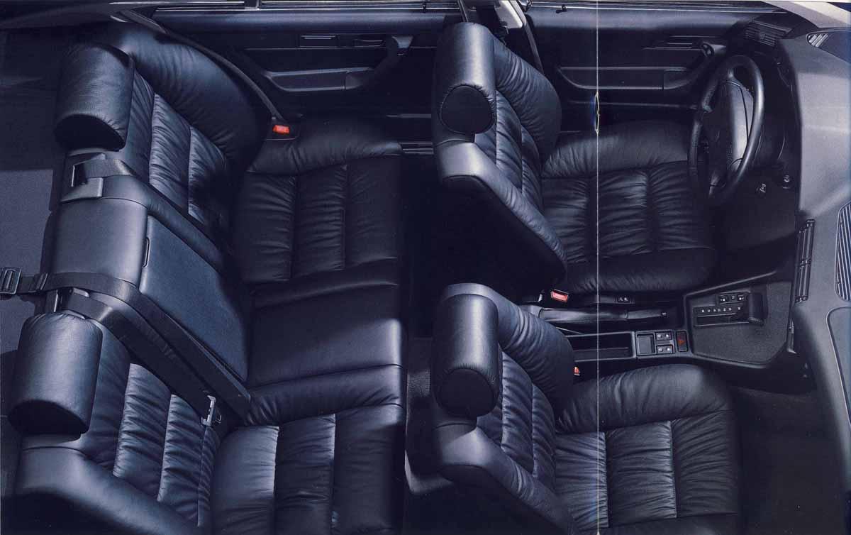 Интерьер салона 5 серии в кузове E34