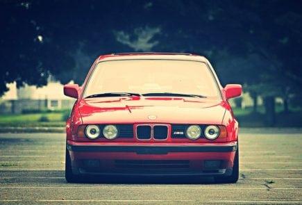 Виды опор передних стоек BMW e34