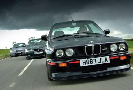 BMW M3 первого поколения была не только отличным спорткаром. Она задала точку отсчёта для всех последующих поколений. И быть хуже они попросту не имеют права.