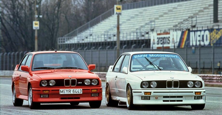 Дорожная и гоночная версия BMW M3. Компактная, лёгкая и мощная «Эмка» стала очень хорошим аппаратом для автоспорта. Да и «гражданская» версия с мотором, который был в полтора раза слабее, тоже хороша.