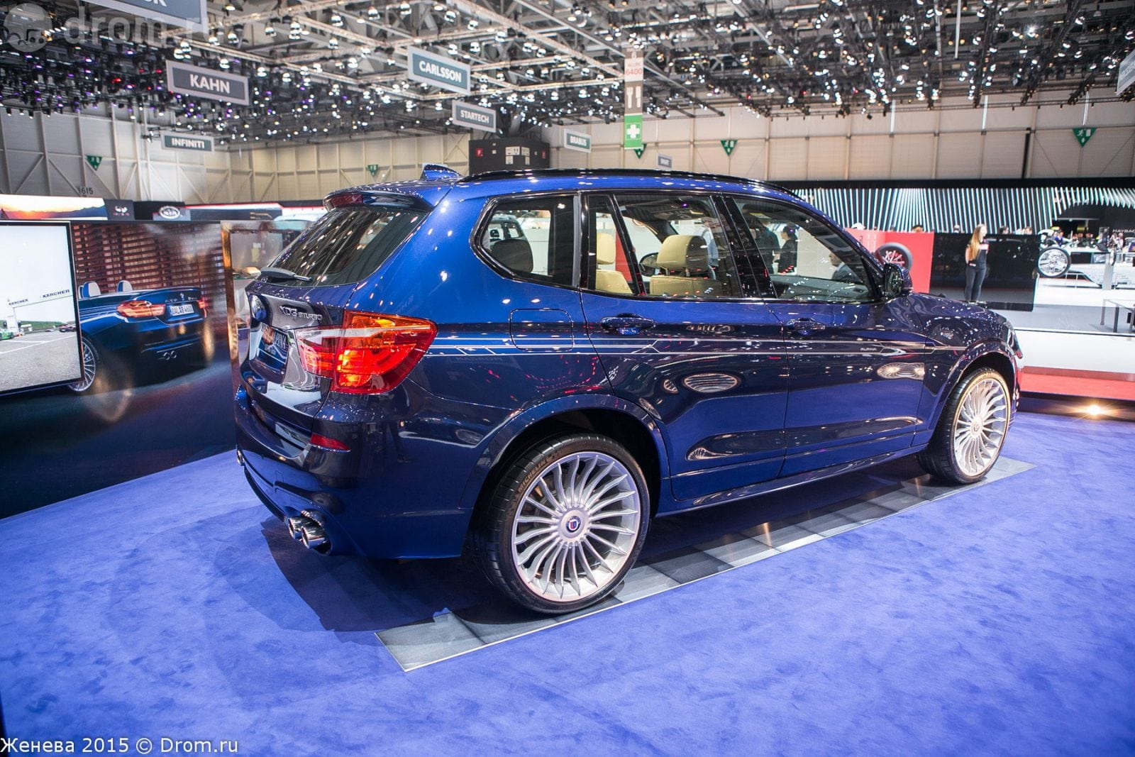 Новая BMW Alpina XD3 Bi turbo на автосалоне в Женеве, 2015 год