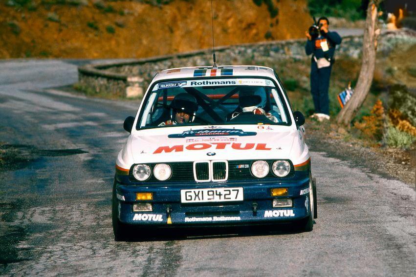 Помимо титулов в WTCC и DTM в 1987-м баварская «ракета» умудрилась выиграть этап мирового чемпионата по ралли в Корсике (на фото), на две минуты опередив пару грозных Lancia Delta HF Integrale. То была первая победа BMW в ралли за 14 лет.