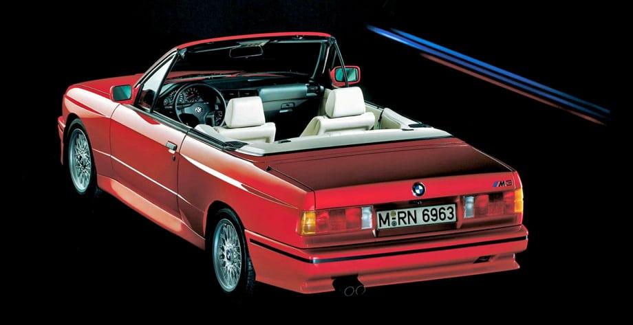 BMW M3 Cabrio — самая быстрая серийная четырёхместная машина с открытым верхом. В то время она была способна разогнаться до 239 км/ч. Всего выпущено 786 экземпляров.
