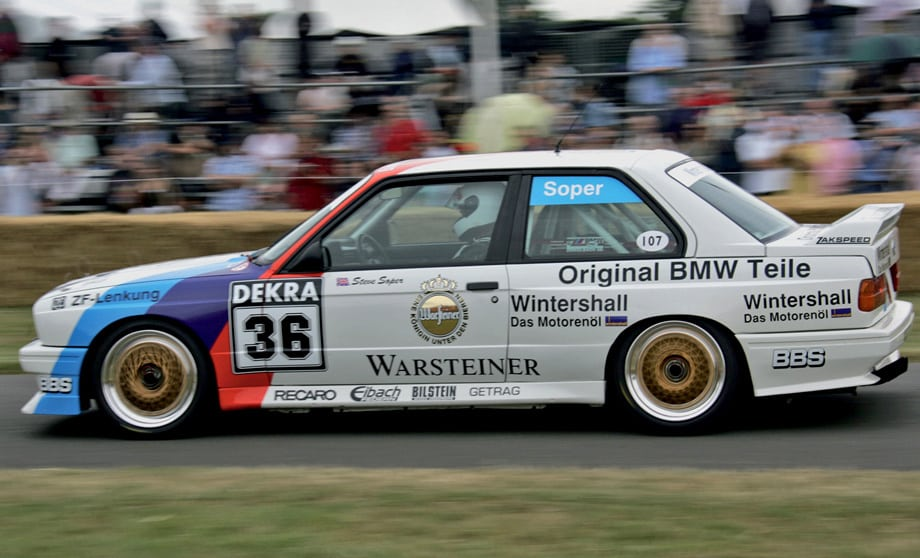 Гоночные BMW M3 оказались чрезвычайно успешными. На их счету по 4 победы в 24-часовых марафонах на трассах Спа и Нюрбургринг и 12 чемпионских титулов в различных кузовных чемпионатах — от DTM до австралийского Туринга.