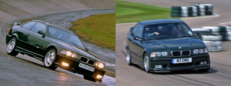 В 1995-м весь скромный тираж BMW M3 GT (350 машин) разошёлся по цене 91 тысяча немецких марок — очень недёшево. В этом же году отделение BMW Individual построило ещё 50 M3 GT для британского рынка (на фото внизу).