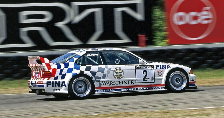 Другая специальная модификация — BMW M3 GTR — участвовала в гонках серии ADAC GT Cup. 300-сильный мотор, облегчённый кузов с интегрированным каркасом безопасности, а также 18-дюймовые колёса делали её грозным соперником.