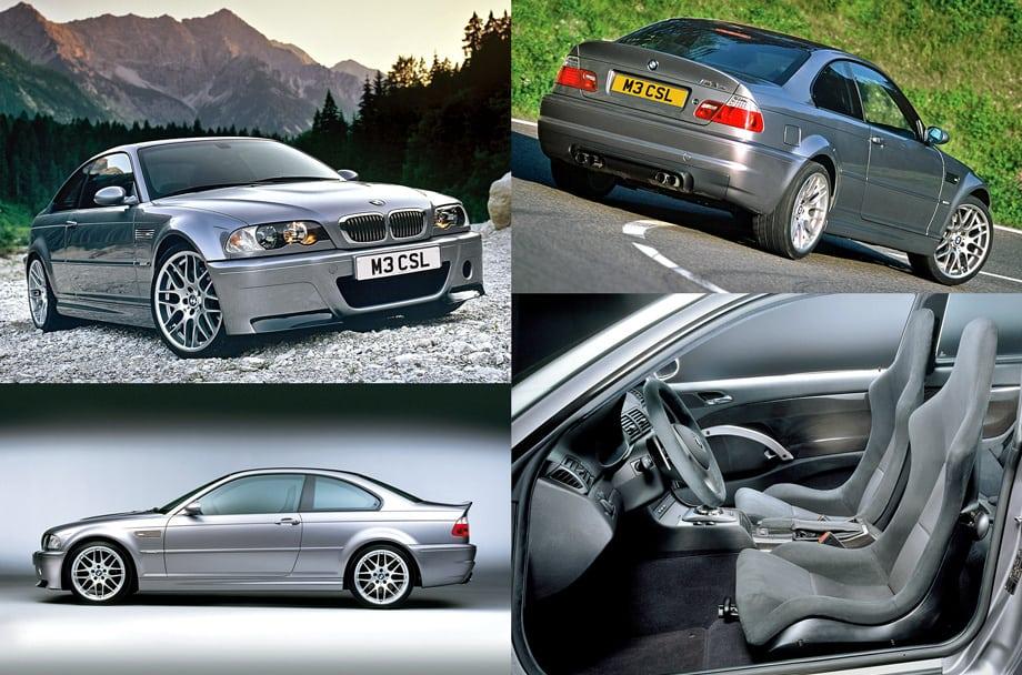 Великолепная BMW M3 CSL отличалась большим количеством деталей из углепластика и особой формой бамперов и крышки багажника. Всего с июня по декабрь 2003-го выпустили 1358 машин. Хотите покорить Нордшляйфе? Ищите её в продаже!
