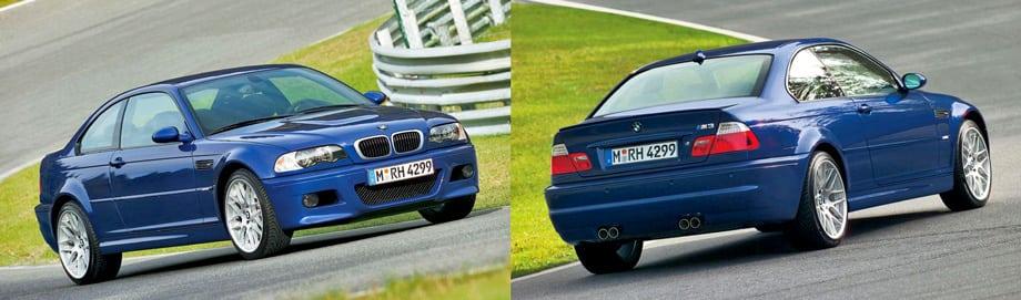 Для тех, кто не успел купить BMW M3 CSL, баварцы выпустили пакет Competition, который можно было установить на обычную M3.