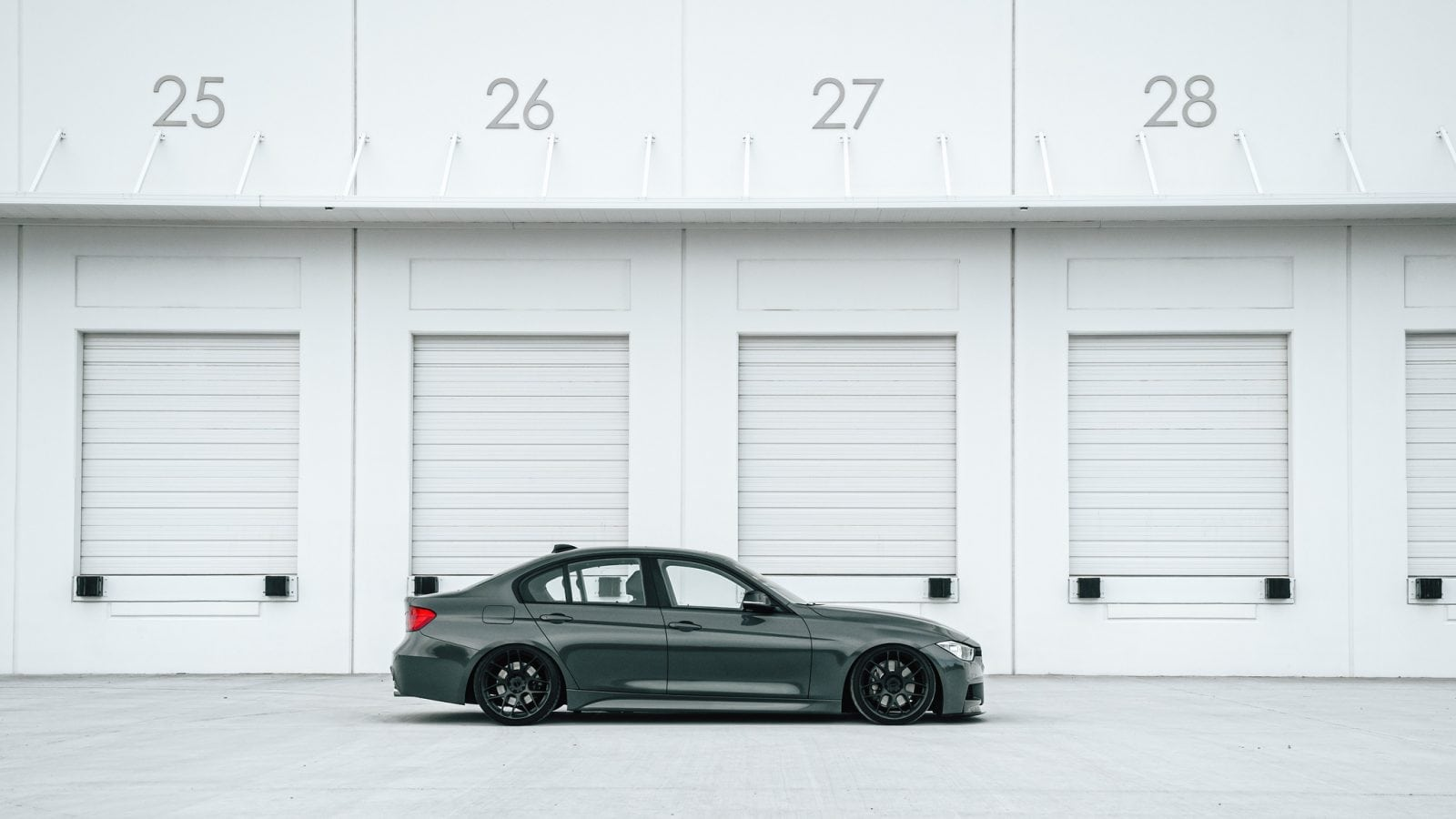 BMW 3 серия F30 на дисках MORR SpunForged FS77