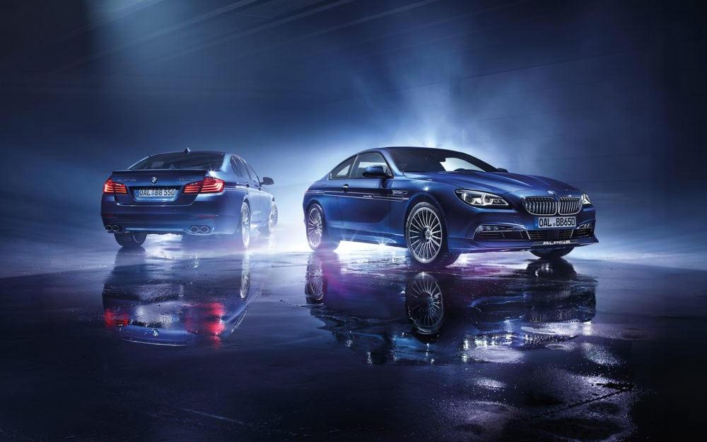 Обои BMW Alpina B5 Biturbo Edition 50