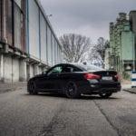 Реактивный черный BMW M4 F82– фотосет от C-Kraft Photography