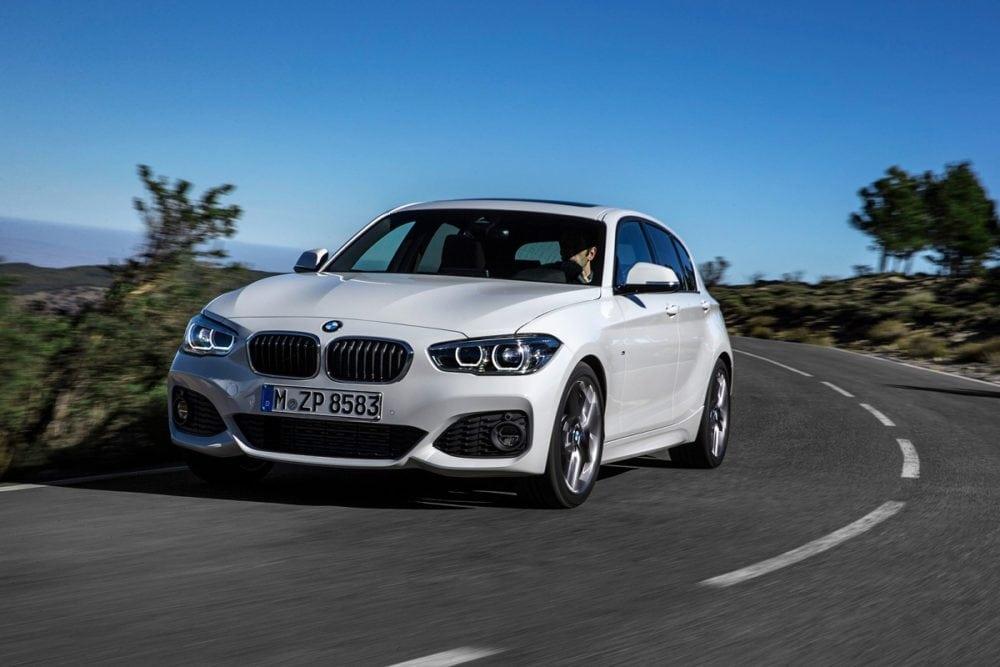 Новая рестайлинговая BMW 1 серии в кузове F20