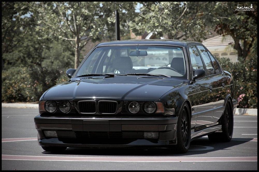 Снятие блок-фары на BMW E34 - инструкция