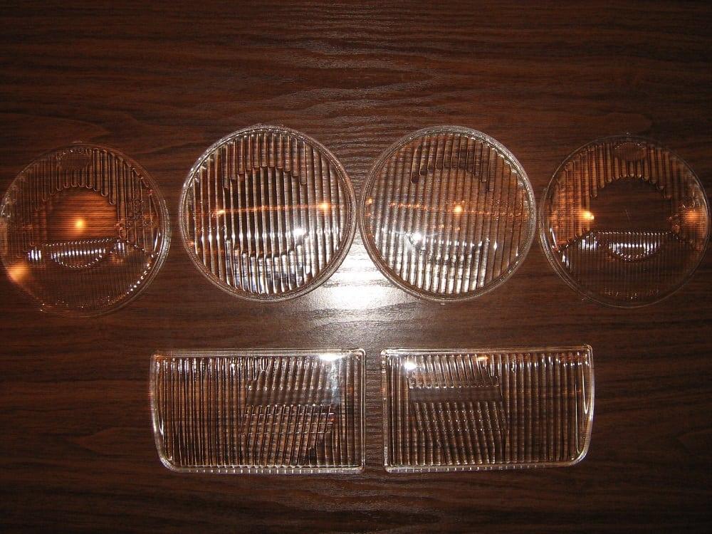 Каталожные номера производителей стёкол фар для BMW E34 E32 E30