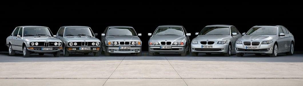 История поколений BMW 5 серии