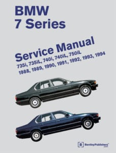 Руководство по ремонту BMW 5 серии 1988-1994 г.в. от издательства Bentley Publishers