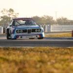 Первая победа BMW 3.0 CSL в США состоялась в 1975 году в гонке на выносливость 12 Hours of Sebring. Фото с празднования 40-летия этой победы на Amelia Island Concours d'Elegance в 2015 году.