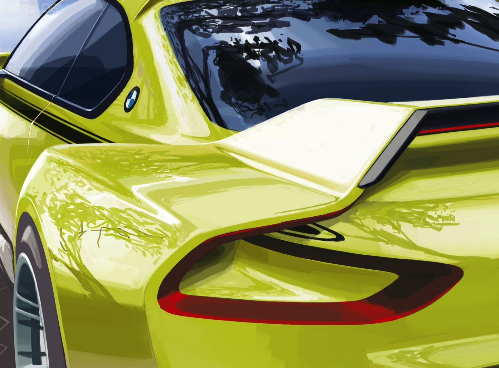 BMW 3.0 CSL Hommage - мировая премьера