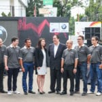 BMW M Owners Club Indonesia (MOCI) launch the BMW M4 MOCI Edition on April 29, 2015 at BMW Eurokars Dealership, Indonesia.