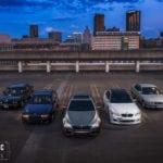 Все пять поколений M5 в одном фотосете