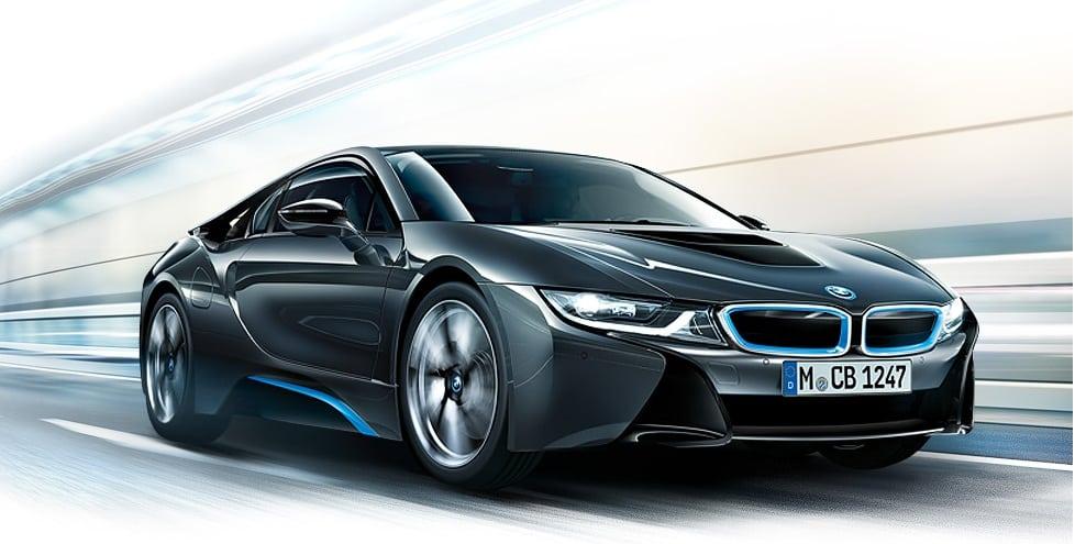 BMW i8: пресс-релиз и видео