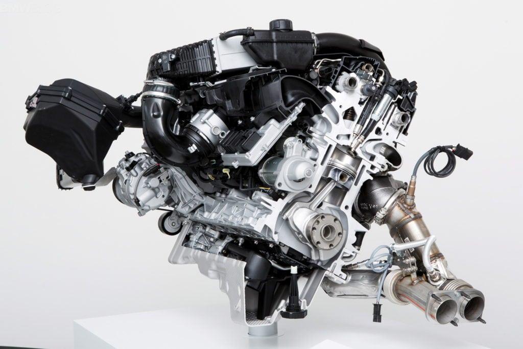 Двигатель BMW S55 который устанавливается на M3 и M4