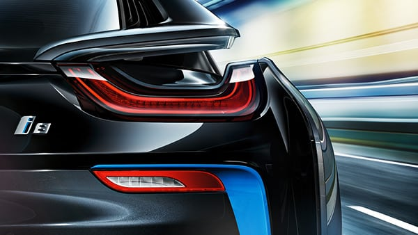 Философия дизайна BMW i8