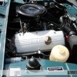 Двигатель M10 под капотом кабриолета BMW 02 серии 1600 E114C
