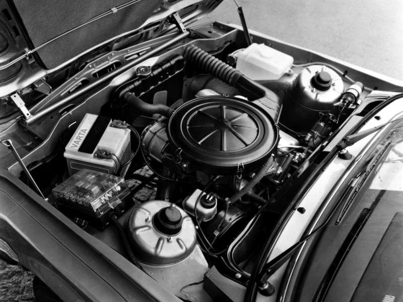 Под капотом BMW 316 Coupe (E21) '1975–82