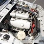 Двигатель M10 под капотом BMW 2000 tii E121