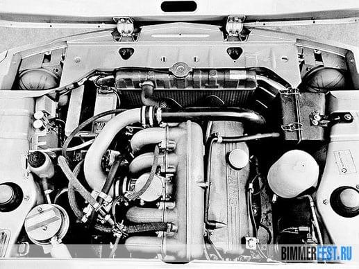 Двигатель M10 на BMW 2002 Turbo E20