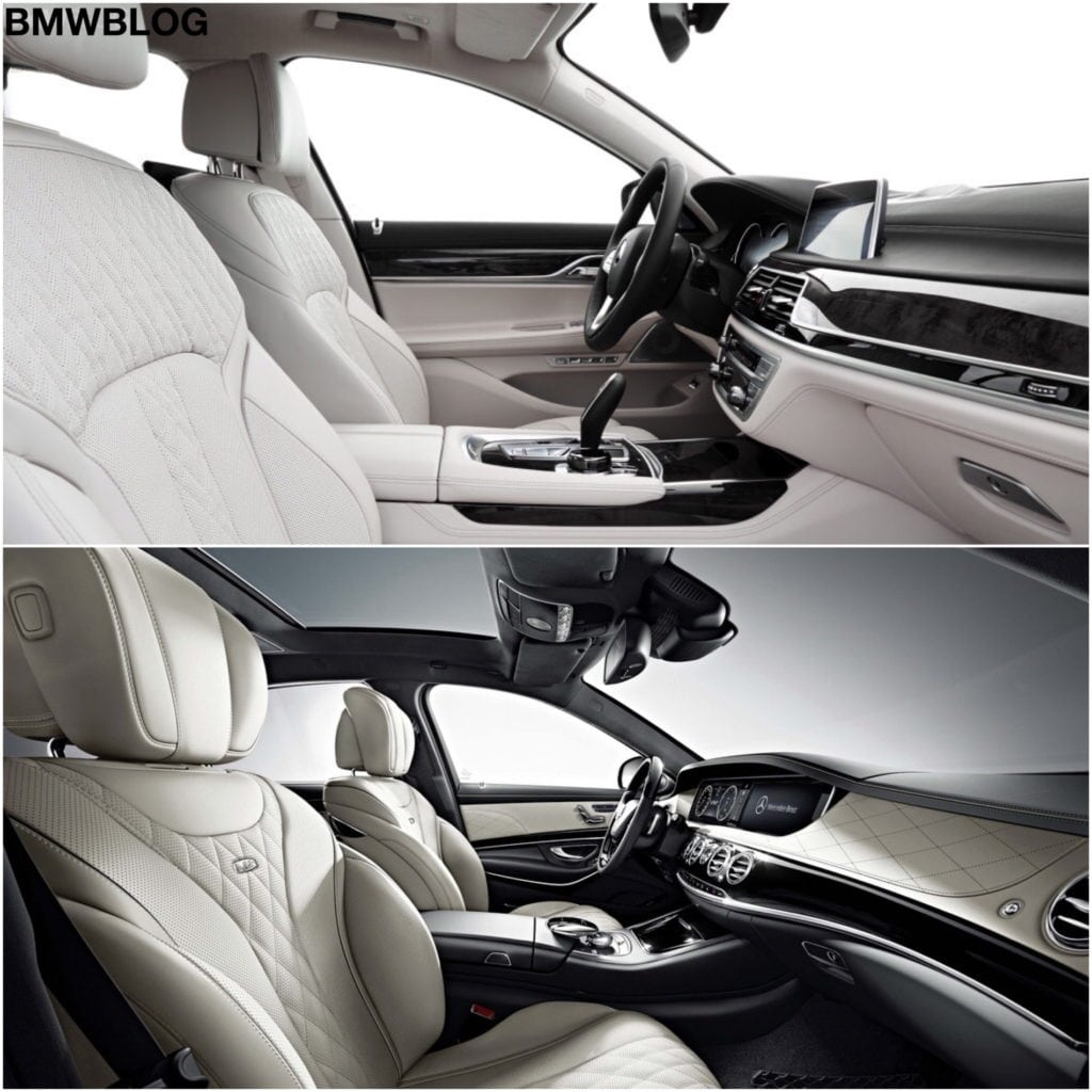 2016 BMW 7 Series vs. 2015 Mercedes-Benz S-Class
