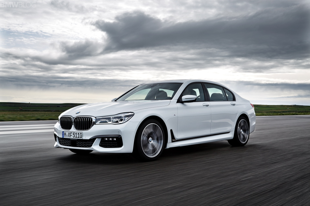 Новый BMW 7 2016 G11/G12 M-Sport Package