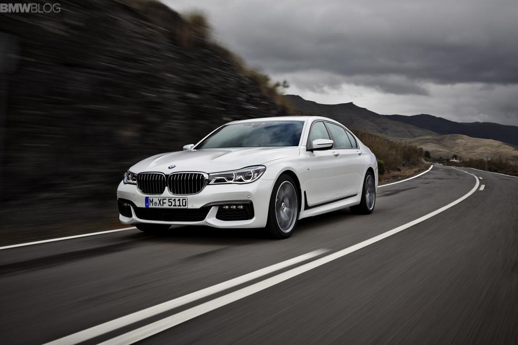 Новый BMW 7 2016 G11/G12 M-Sport Package