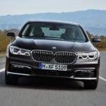 Новый BMW 7 серии 2016 в кузове G11/G12: фото внешнего дизайна