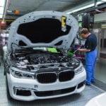 На производстве нового BMW 7 серии 2016 G11/G12