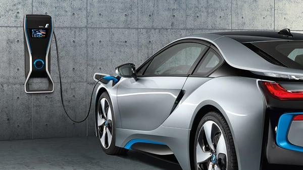 BMW i8 возможности зарядки