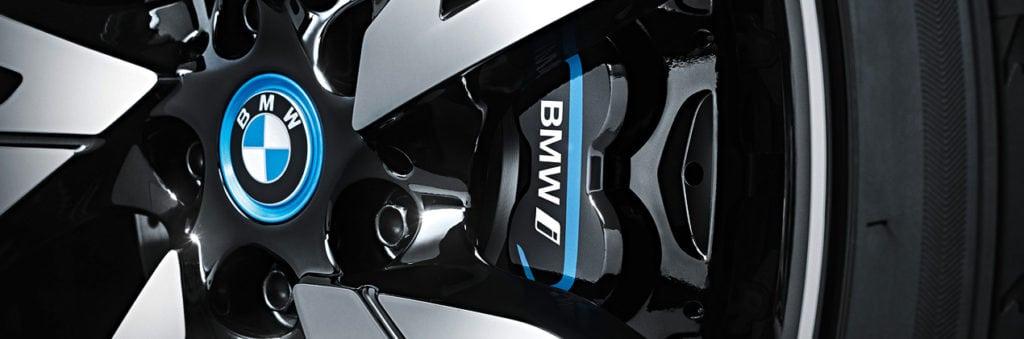 BMW i8 brakes