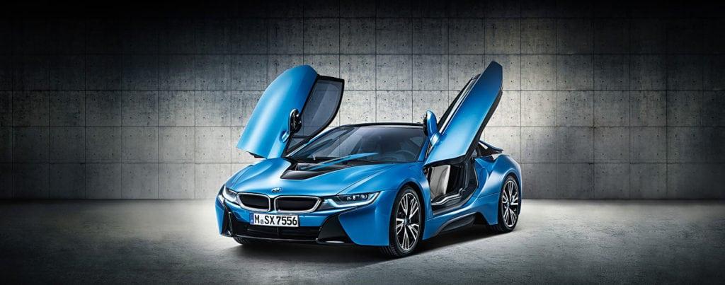 BMW i8 красота аэродинамических форм