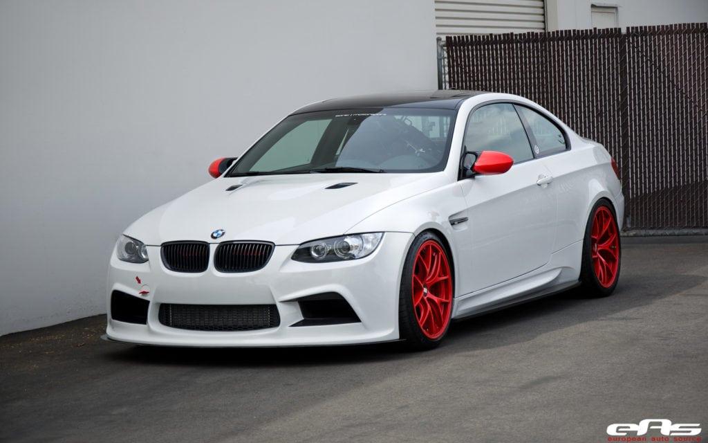 BMW M3 Alpine White