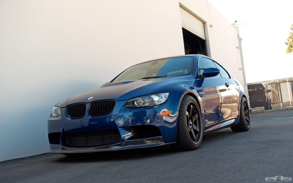 BMW E92 M3 в цвете Le Mans Blue