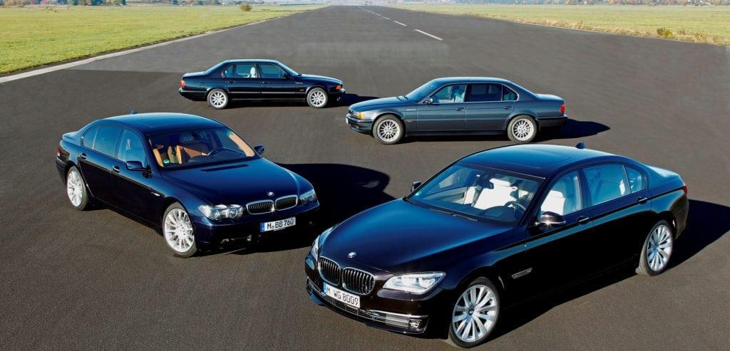 BMW 7 серии с двигателями V12